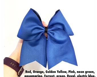 "3"" Solid Color Bow"