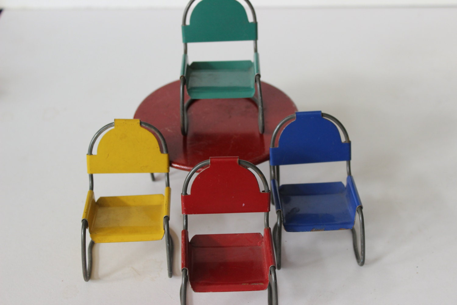 Mid Century Modern Metal Patio Table And Chairs Furniture