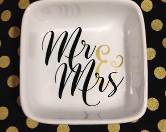 Mr & Mrs Ring Dish