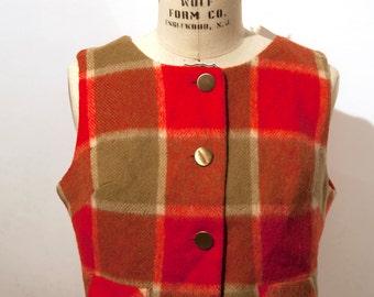 1950s Wool vest