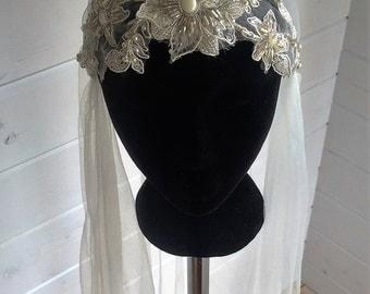 Serenity Juliet Cap Bridal Veil SALE