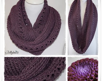 Crochet Pattern Cowl Crossover