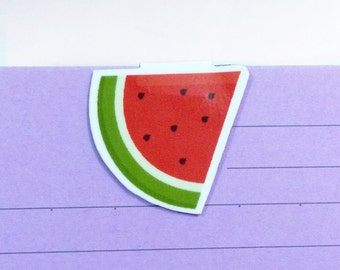 Watermelon magnetic bookmark