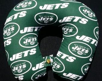 Cotton Football Neck Pillows with a Snap