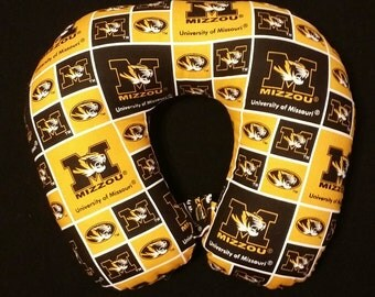 University of Missouri Neck Pillow with a Snap