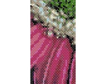 Daisy Peyote Cuff Beaded Bracelet Pattern