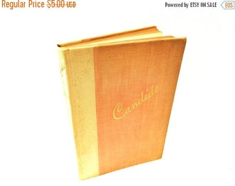 ON SALE Candide by Voltaire, English Language Version, Published in 1930