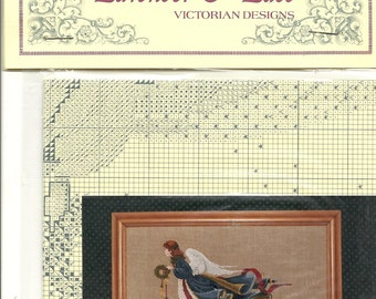 Lavender & Lace: The Second Angel of Freedom Cross Stitch Kit