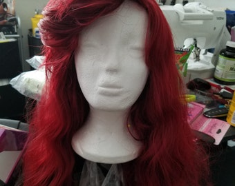 Custom Ariel The Little Mermaid Inspired Cosplay Wig- Made to Order