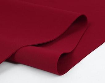 Neoprene Fabric Red By The Yard