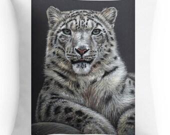 Pillow 40 x 40 cm - Clouded Leopard or Snow Leopard