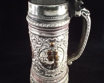 Germany, Octoberfest, German Beer, Beer Mugs,  WINTERFREUDEN, Vintage Beer Stein Beerstein, Coupon code, beer fest