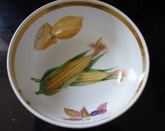 Vintage Royal Worcester Evesham bowl dish