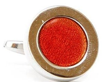 Red Dot Cufflinks Cuff Links