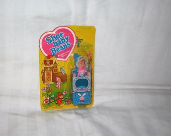 vintage 1978 mattel shoe baby beans bedtime baby beans doll