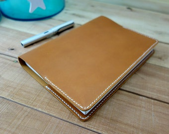 Hobonichi Cover, Leather Planner, A5 Cover, Leather Notebook, Journal Cover, Bullet Journal, Leather Hobonichi, Leather Journal, A5 Planner