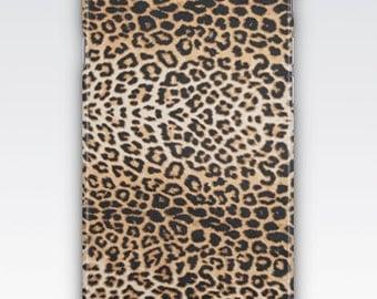 Case for iPhone 8, iPhone 6s,  iPhone 6 Plus,  iPhone 5s,  iPhone SE,  iPhone 5c,  iPhone 7  - Leopard Spots Print Design