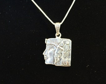 Sterling Silver Queen Nefertiti