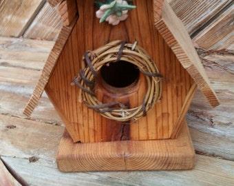 Wooden (Cedar) Handmade Novelty Birdhouse