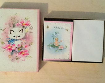 Vintage greeting  cards with envelopes 18 cards