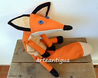 SALE SALE Fox plush The little prince friend Stuffed animal plushie softie fox 60cm 23inch long petit prince