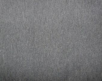 Fabric - Viscose elastane jersey fabric - dark grey marl