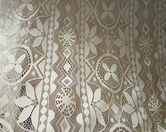 Bridal Wedding Lace Fabric , Wedding Lace fabric, Floral lace, Fabric lace,  lace fabric , by the yard wholesale lace fabric ,DC16011006