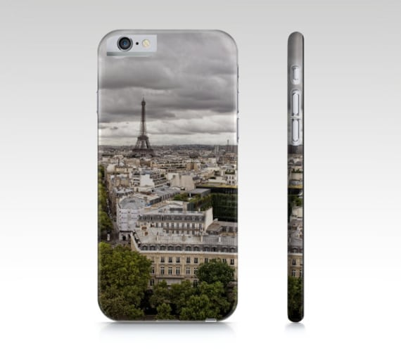 Phone Case, In Stock, Last Minute Gift, Eiffel Tower Photo, Paris Photography, iPhone 6, iPhone 6s, Europe Travel, Grey Pictures, France