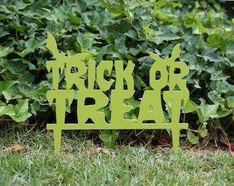 Trick or Treat Garden Marker