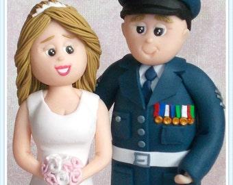 Personalised Wedding Topper Bride and Groom Personalised Wedding Figurines
