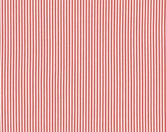 1/2 yard of Dear Stella Intermix Red Dress Stripe