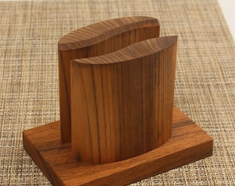 Hand made napkin holder