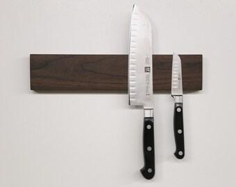 Magnetic Knife Block [Walnut]