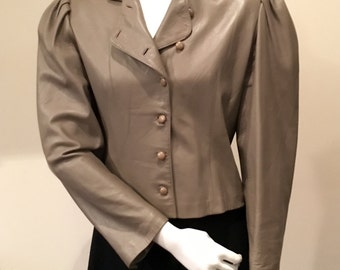 Emanuel Ungaro Paris Leather Jacket