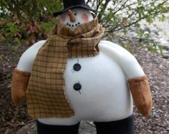 Snowman Chuck, handmade 2016