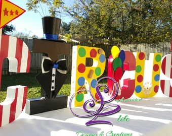 Circus party Circus birthday party ideas Circus party theme Carnival party ideas Carnival party theme Circus tickets Circus letters Circus