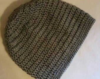 Lightweight Crochet Slouchy Hat