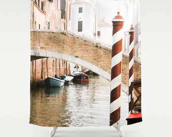 Shower Curtain - Venice Shower Curtain - Venice Italy - Italy Shower Curtain - Photo Shower Curtain - Gifts for Her - Venice - Gift Ideas