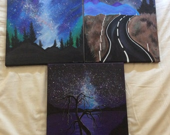 Galaxy / scene painting (separate)