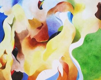 ONDULACIONS - Pintura al oleo/Oil paint