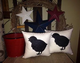 Chicken Little Mini Pillows