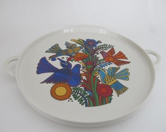Vintage Villeroy and Boch Acopulco Round Platter