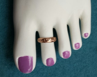 Sold Copper Toe Ring