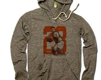 Buster Posey MLBPA Officially Licensed San Francisco Women's Hoodie S-XL Buster Posey Sketch O