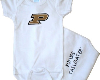 Purdue Boilermakers Future Tailgater Baby Bodysuit