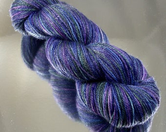 """Hand Dyed """"Whispers of the Ocean"""" Yarn"""