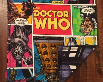 Comic book Dr. Who Handkerchief