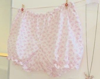 Bloomers / Women / Short / For her / Gift / Pink / Bicycle