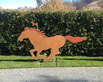 Free shipping, Outdoor horse sculpture, horse sculpture, running horse sculpture, outdoor sculptures, outdoor sculpture, horse statue