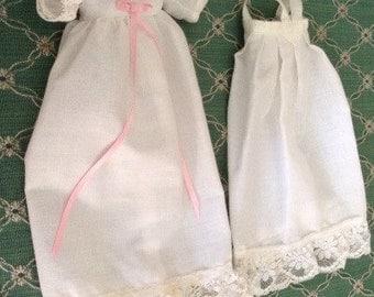 Beautiful Small Doll Christening Dress